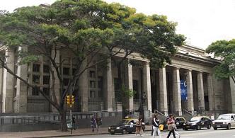 В Национальной библиотеке Уругвая установили бронзовый бюст Александра Пушкина