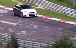 Новый Ford Focus RS проходит дорожные испытания