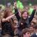 Девушка на рок-концерте