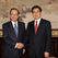 Японский премьер и председатель КНР впервые встретились после конфликта