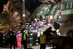 В Польше объявлен траур в связи с катастрофой на железной дороге
