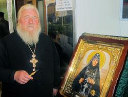 В Покрово-Еннатском мужском монастыре замироточила икона преподобной Зосимы Еннатской