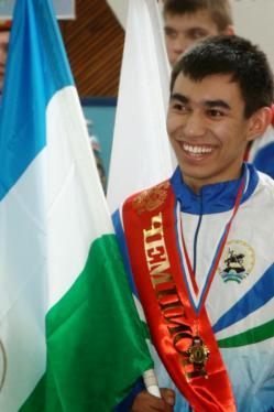 Башкирский огнеборец Эрнест Шаяхметов стал абсолютным чемпионом России