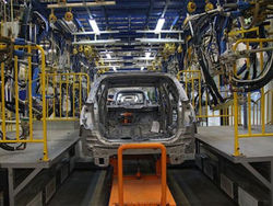 Производство автомобилей в Россия выросло на 37%