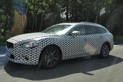 Папарацци сфотографировали новую Mazda 6