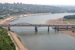 В Башкирии совсем обмелела река Белая