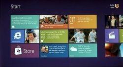 Microsoft закончила работу над Windows 8