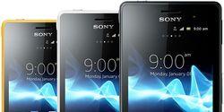 Три планшета и три смартфона от Sony