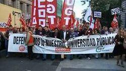 В Испании продолжаются акции протеста