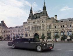 """""""Чайка"""" президента получит платформу Mercedes Benz"""