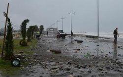 В Грузии продолжают бороться с последствиями сильного шторма
