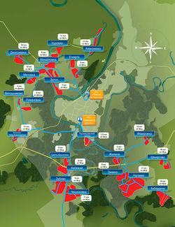 Коттеджные поселки вокруг Уфы: привычные и новые направления развития строительства