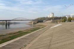 Аукцион на реконструкцию набережной в Уфе пройдет в сентябре