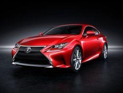 В Токио состоится премьера Lexus RC Coupe