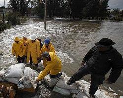 18 рек потопили штат Вераксус в Мексике