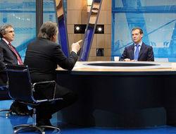 6 декабря состоится телеинтервью Дмитрия Медведева, где он подведет итоги года