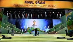 Сегодня в Бразилии состоится жеребьевка Чемпионата мира по футболу