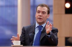 Дмитрий Медведев сегодня в прямом эфире подведет итоги года