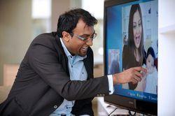 Телевизорами Samsung можно будет управлять с помощью пальцев