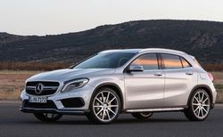 Mercedes-Benz представил кроссовер GLA 45 AMG