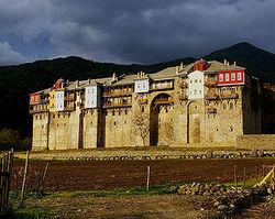 Монастырь на Афоне отреставрируют к 2016 году