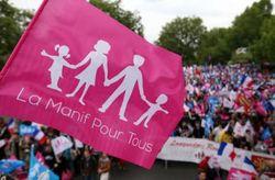 В Париже на демонстрацию против однополых браков вышли 500 тыс. человек