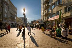 Арбат является лидером среди элитных районов Москвы по объему возводимых жилых объектов