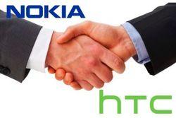 Производители смартфонов Nokia и HTC заключили соглашение о сотрудничестве