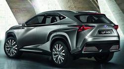Осенью 2014 года появится в продаже кроссовер Lexus