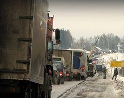 Активисты блокируют пункты пропуска на границе Украины и Польши