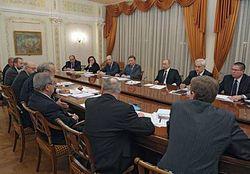 Путин призвал ученых разработать программу ускорения экономического роста