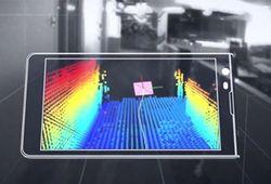 Google создал прототип Android-смартфона c 3D-сканером