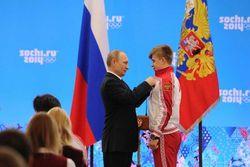 Владимир Путин наградил героев игр в Сочи