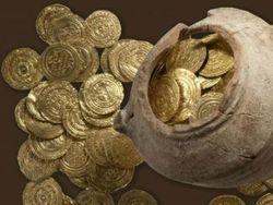 В Калифорнии обнаружен клад старинных золотых монет