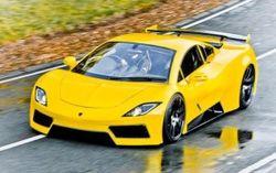 Arash Cars рассекретил новый суперкар AF-8