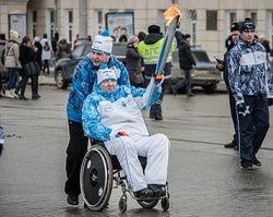 В Уфе стартовала Эстафета Паралимпийского огня