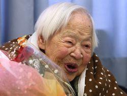 Самая пожилая жительница мира отмечает 116-летие