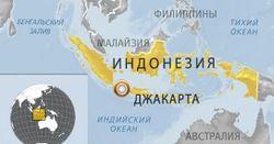 В Индонезии на складе боеприпасов военно-морской базы произошел взрыв
