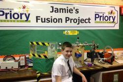 Британский школьник на уроке создал ядерный реактор