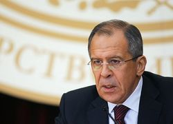 Сергей Лавров впервые встретился с министром иностранных дел Украины