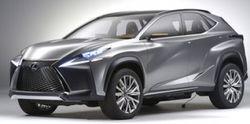 Lexus привезет в Пекин компактный кроссовер NX