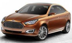 В Пекине Ford представит серийный седан Escort