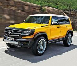 Mercedes-Benz выпустит новый внедорожник GLB
