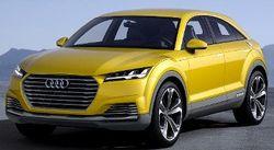 Компания Audi продемонстрировала кроссовер на базе купе TT