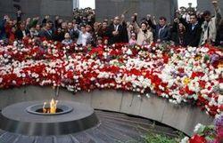 Армения вспоминает жертв геноцида