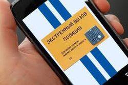 Представлено мобильное приложение, позволяющее оперативно вызвать полицию
