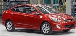 В Петербурге официально стартовал выпуск обновлённого седана Hyundai Solaris