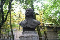 В Брюсселе облит краской бюст Петра Первого