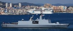 В акваторию Черного моря войдет французский военный фрегат Surcouf
