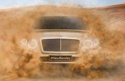 Bentley распространил видеотизер своего первого внедорожника
